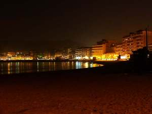 crotone by night